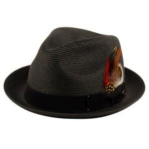 Other - Men's Black Fedora Hat